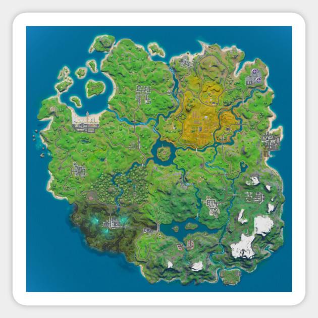 Fortnite Chapter 2 Season 1 Map
