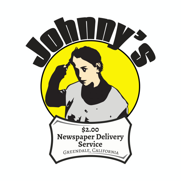 Better Off Dead Newspaper Boy Johnny Delivery Service