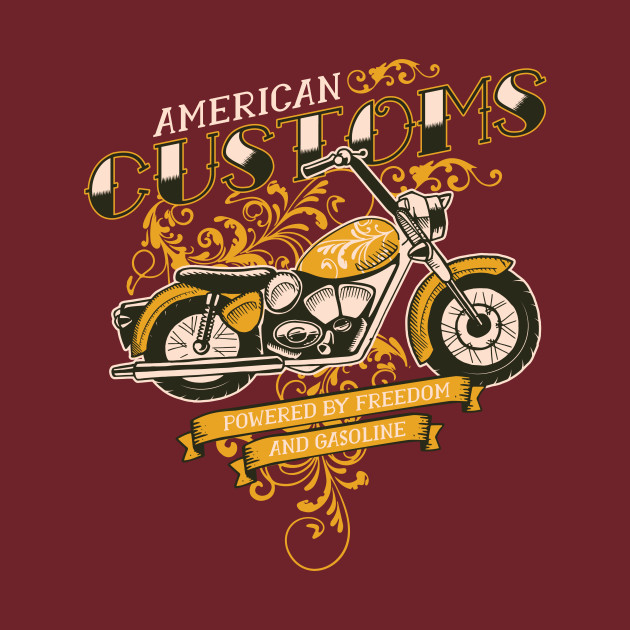 AMERICAN CUSTOMS MOTORCYCLE