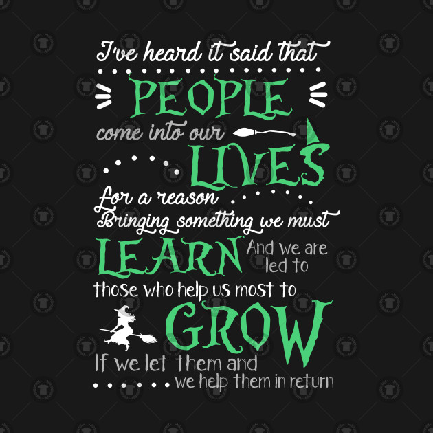 Wicked Musical Quote