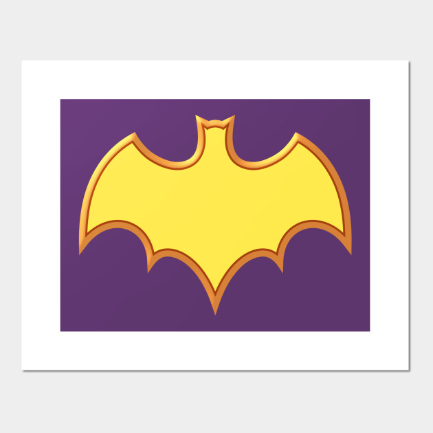 60s Lady Crime Fighter Symbol Chiroptera Posters And Art Prints