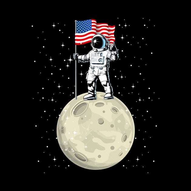 Space Astronaut 4th Of July