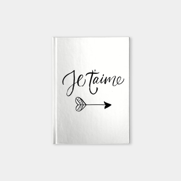 Je t'aime - I love you in french