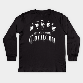 5255ef268c1b Straight Outta Compton Kids Long Sleeve T-Shirt