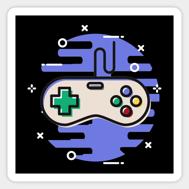 Video Game Controller Retro