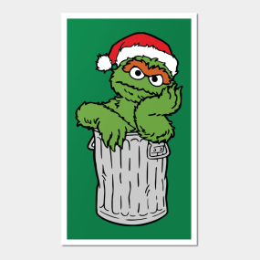 Oscar The Grouch Posters And Art Prints Teepublic