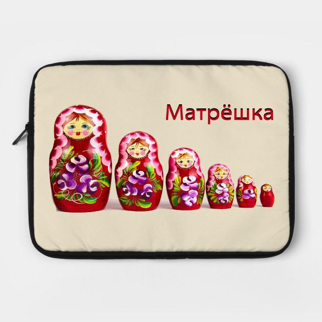 Matrjoschka t shirt Russian pride retro Matryoshka