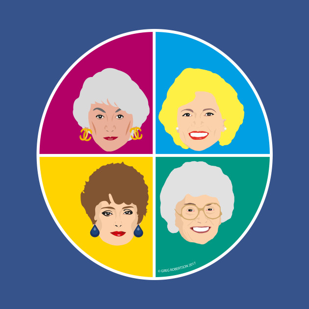 The Golden Girls - Complete Set of all four