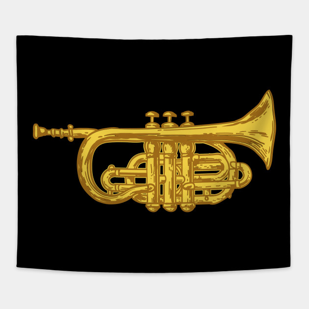 74f3fb7c Trumpet - Music Instrument March Band - Funny Trumpet Player Gifts ...
