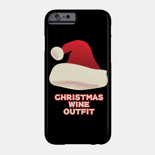 Christmas Santa Claus Hat Gift For Christmas Humour Lovers Phone Case