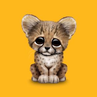 cute cheetah cub t shirts teepublic