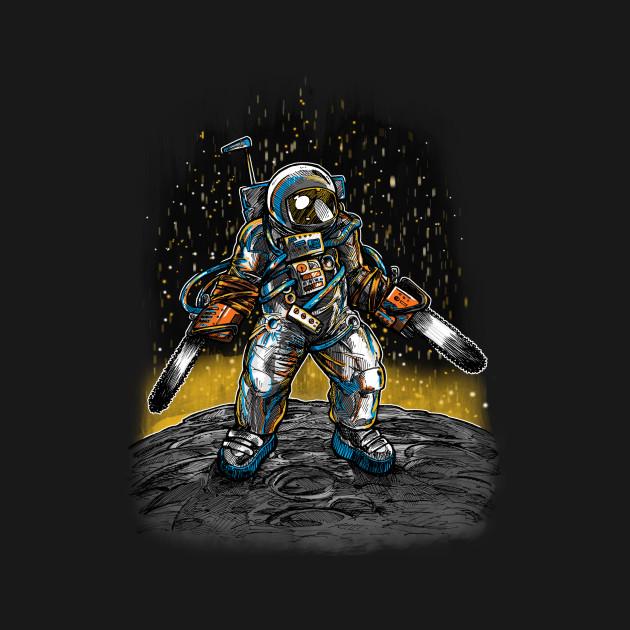 Texas Chainsaw Astronaut
