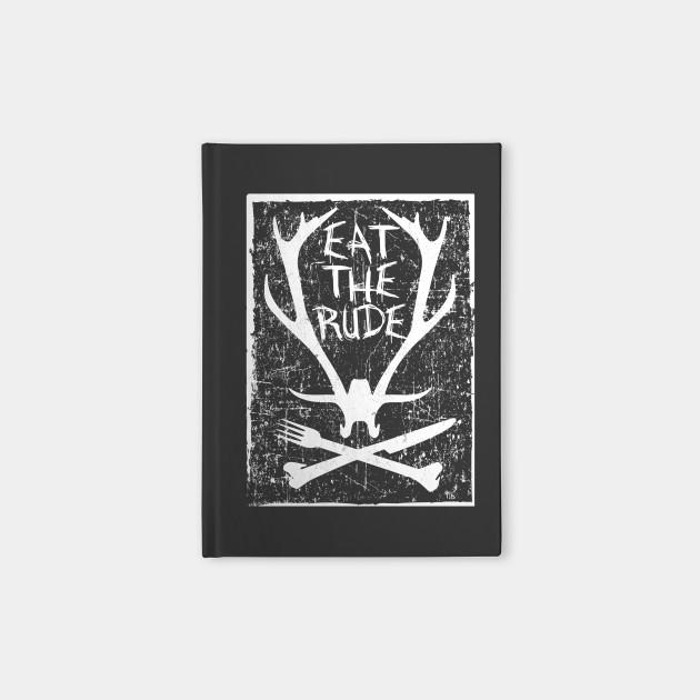 Eat The Rude - Hannibal (White)