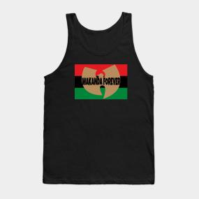 d2299cedb097b Wakanda Black Panther Tank Tops
