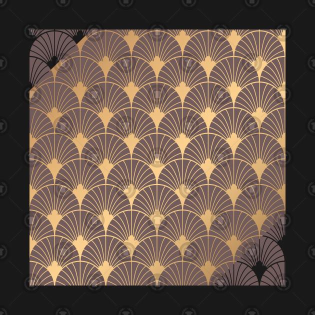 Minimalistic Geometric Art Deco