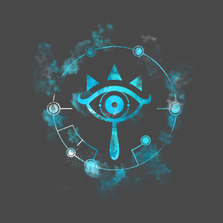 Glowing Sheikah Eye t-shirts