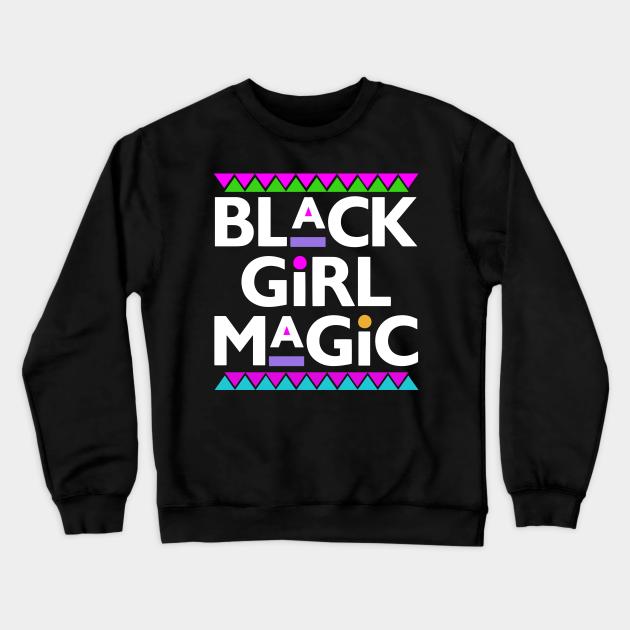 Re-Designed Black Girl Magic UP-cycled sweatshirt