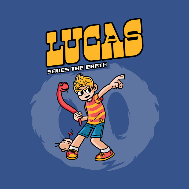 Lucas saves the Earth