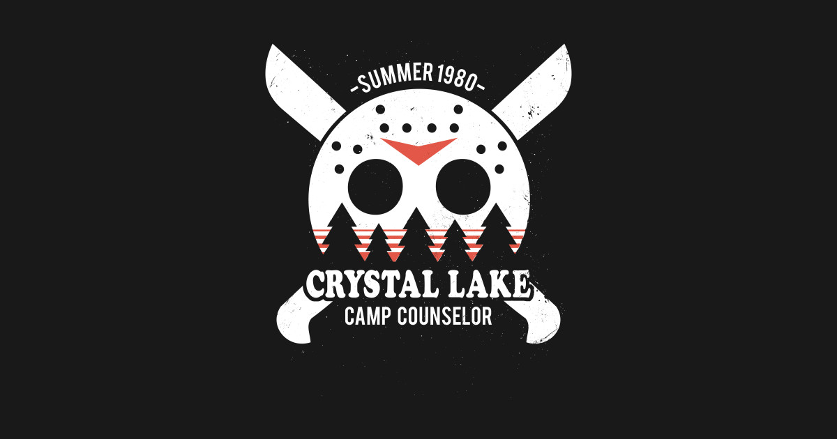 Crystal Lake Camp Counselor Friday The 13th T Shirt