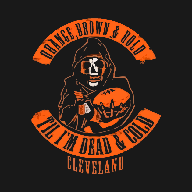 Orange, Brown and Bold - Cleveland