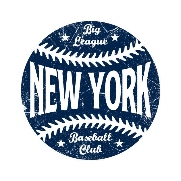 New York Retro Big League Baseball - White
