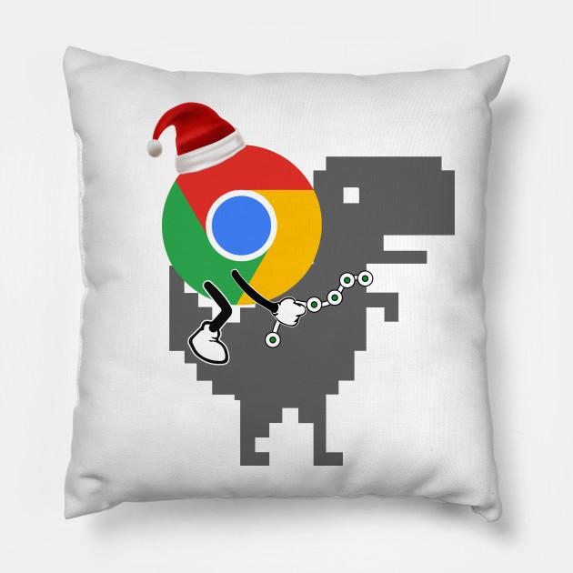 Christmas Chrome Dinosaur Offline Dino Google Chrome T Rex Dinosaur