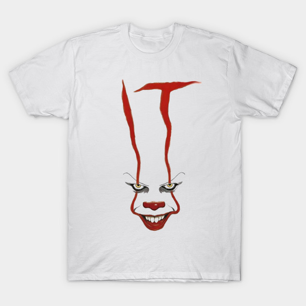 Stephen King IT Movie Shirt 2017 Pennywise Scary Clown Horror Shirt HALLOWEEN