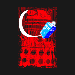 EXTERMINATE THE DOCTOR t-shirts