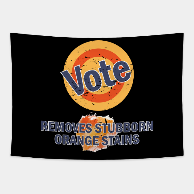 Vote Removes Orange Stains