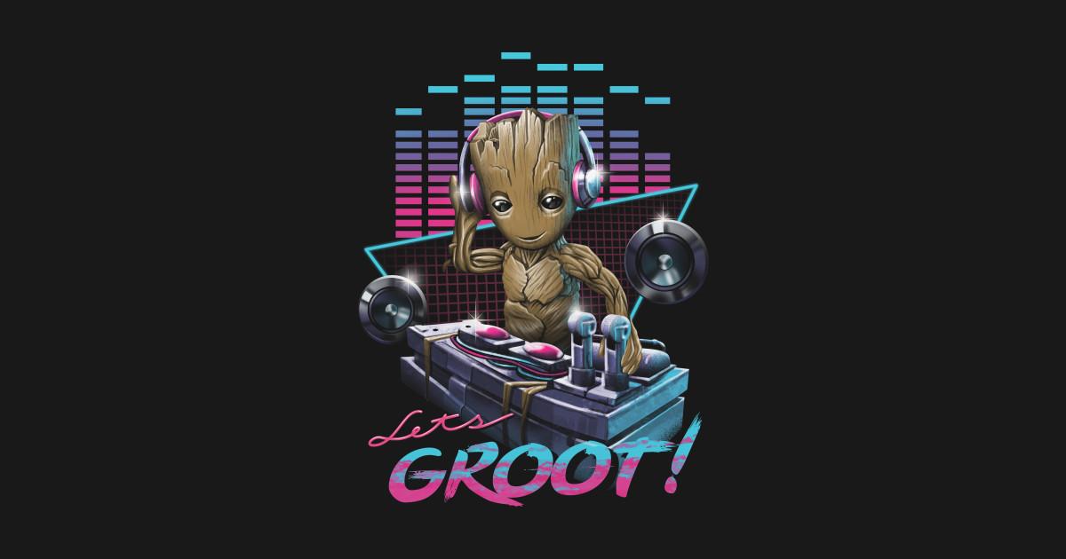 Let S Groot Baby Groot T Shirt Teepublic