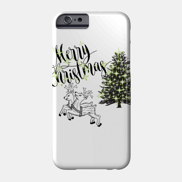 Christmas deer t-shirt Christmas shirts Marry Christmas Phone Case