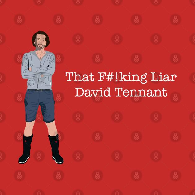 Staged David Tennant liar