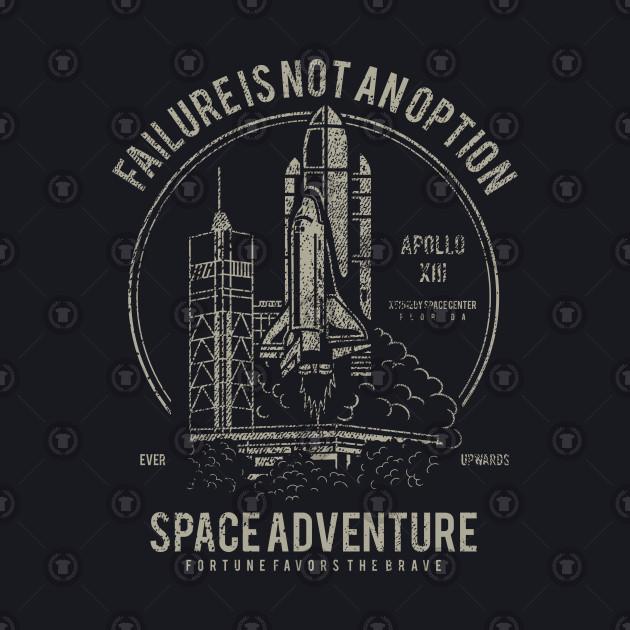 Space Adventure: Vintage Shuttle Design