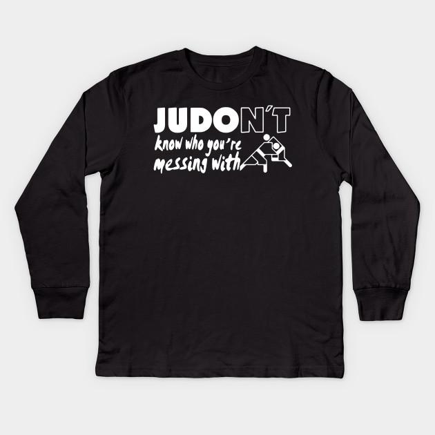 Judo Shirt Judo Kids Long Sleeve T Shirt Teepublic