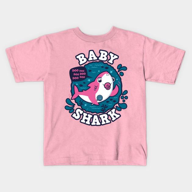 15e0c66e3 Baby Shark Girl Pacifier (trace) - Baby Shark - Kids T-Shirt | TeePublic