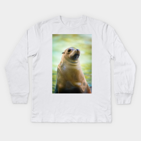 de72159f Sea Lion Kids Long Sleeve T-Shirts | TeePublic