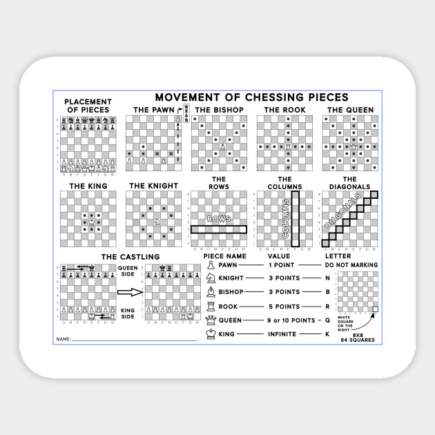 Limited Edition Exclusive Chess Pieces Movements