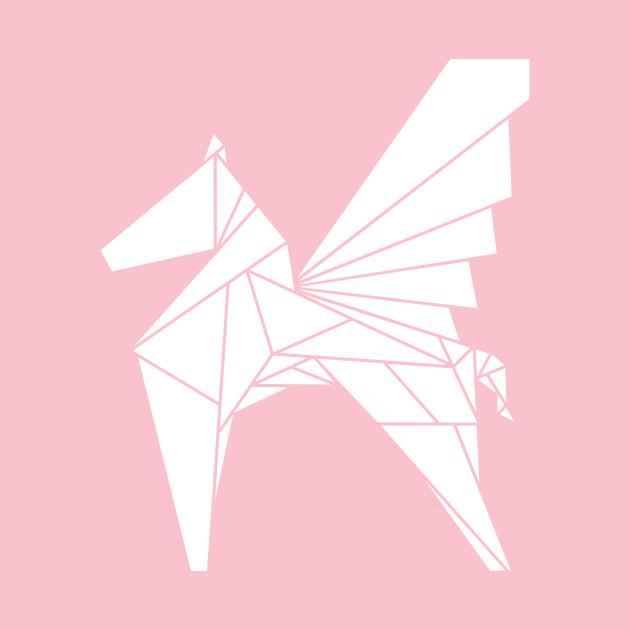 Pegasus Horse Origami Pegasus Onesie Teepublic