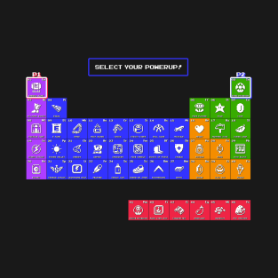 Periodic Table of Powerups