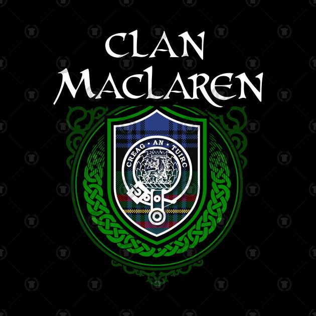 clan maclaren surname scottish clan tartan crest badge