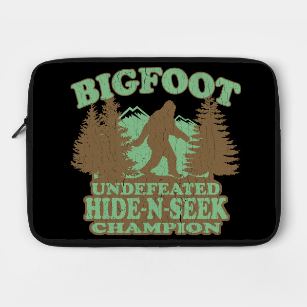 Funny - Bigfoot Hide-N-Seek Champion (distressed vintage)