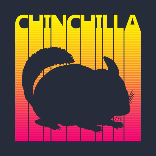 Vintage Retro Chinchilla Gift
