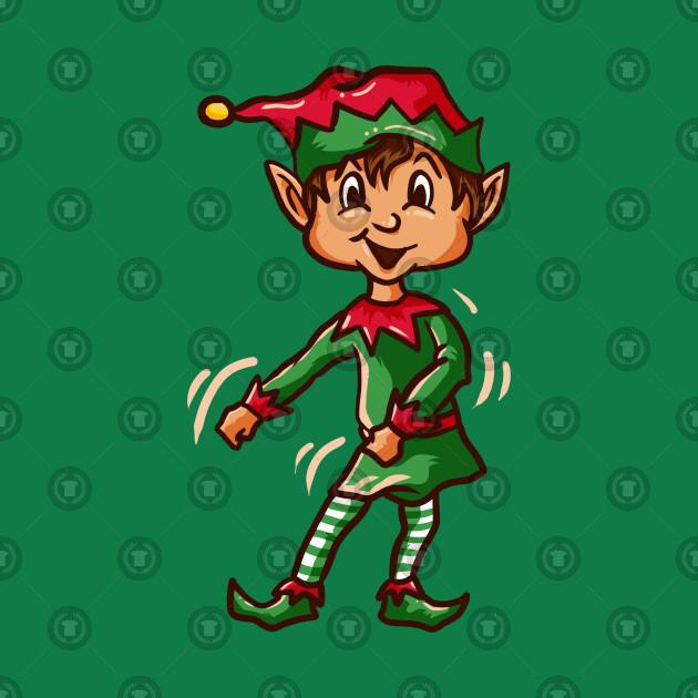 Anime Elf dancing the Flossing dance!