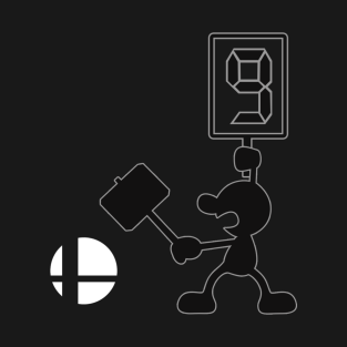Mr.Game & Watch Smash Ball