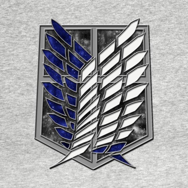 Attack on Titan - The Survey Corps Logo (Galaxy Design ...