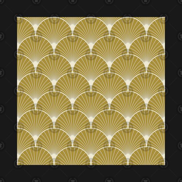 Gold Colored Art Deco