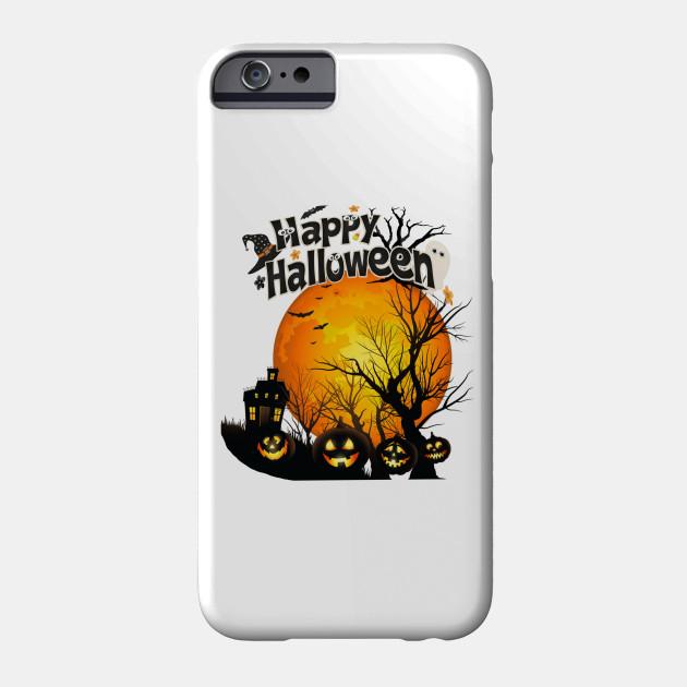 Happy Halloween, Individual Halloween Phone Case