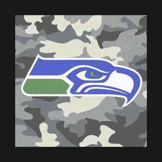 f95fea5c4 Seahawks IN Camo Anyone  - Seattle Seahawks - T-Shirt