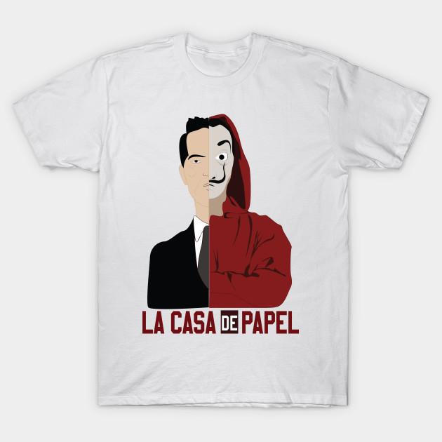3984ae8e1a0 la casa de papel BERLIN - Berlin La Casa De Papel - T-Shirt