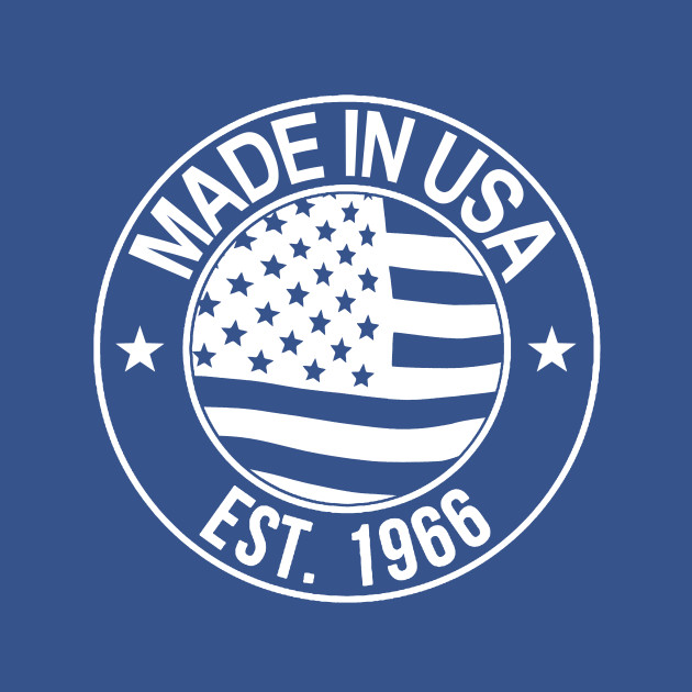 Made in USA EST. 1966